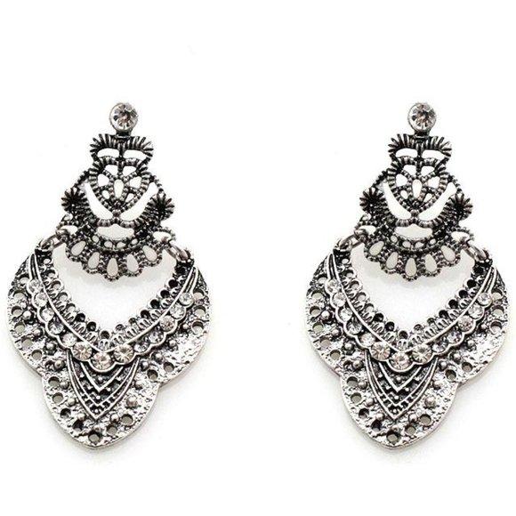 CLOSING New Bohemian Silver Earrings